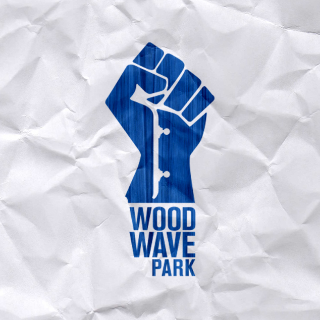 WOOD WAVE PARK • Logo design