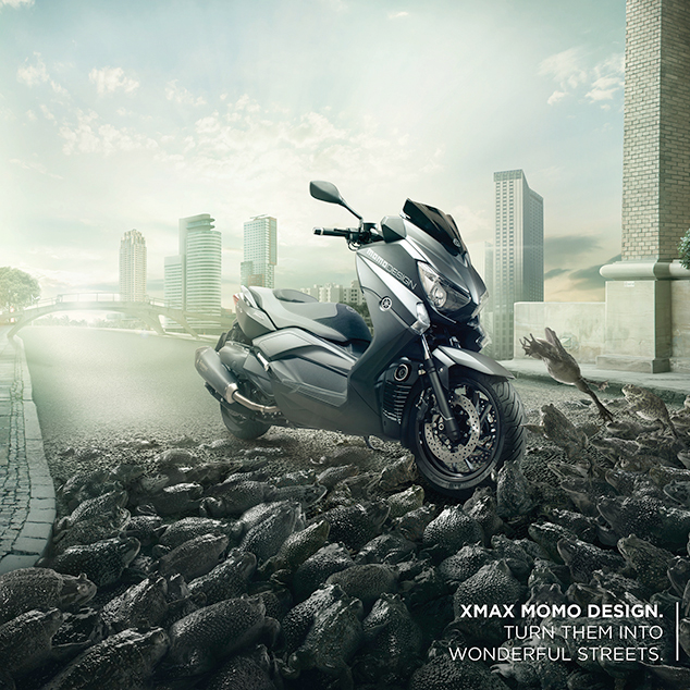 YAMAHA Xmax Momo Design • Wonderful Streets