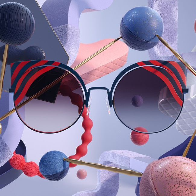 FENDI • Hypnoshine Eyewear collection